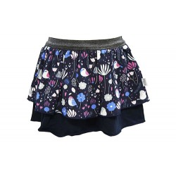 TIERED PRINT SKIRT FOR GIRLS (MULTI)