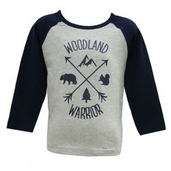 WOODLAND WARRIOR TOP FOR BOYS