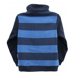 STRIPED FLEECE TOP FOR BOYS
