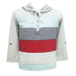 STRIPE HOODIE FOR BOYS (MULTI COLOR)