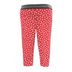 RED SPOT LEGGINGS FOR GIRLS