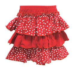 RED SPOT SKIRTS FOR GIRLS