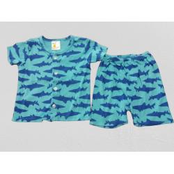 SHARK SHORT SLEEVE SHIRT & PANTS