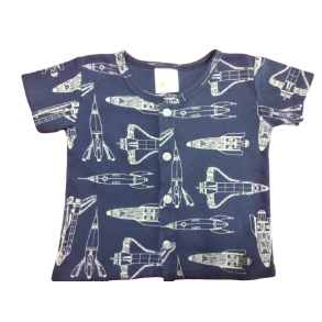 My Curious Baby Plane Short Sleeve Shirt and Pants
