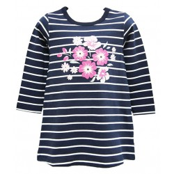 4D FLOWER STRIPES AUGMENTED REALITY WEAR T-SHIRT FOR GIRLS