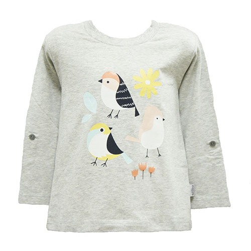 4D Bird Augmented Reality T-shirt for Girl