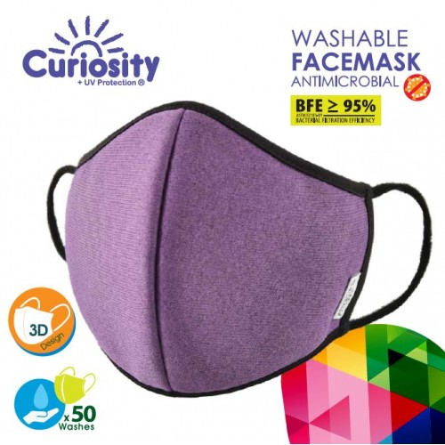 Washable Face Mask Antimicrobial - Single Pack